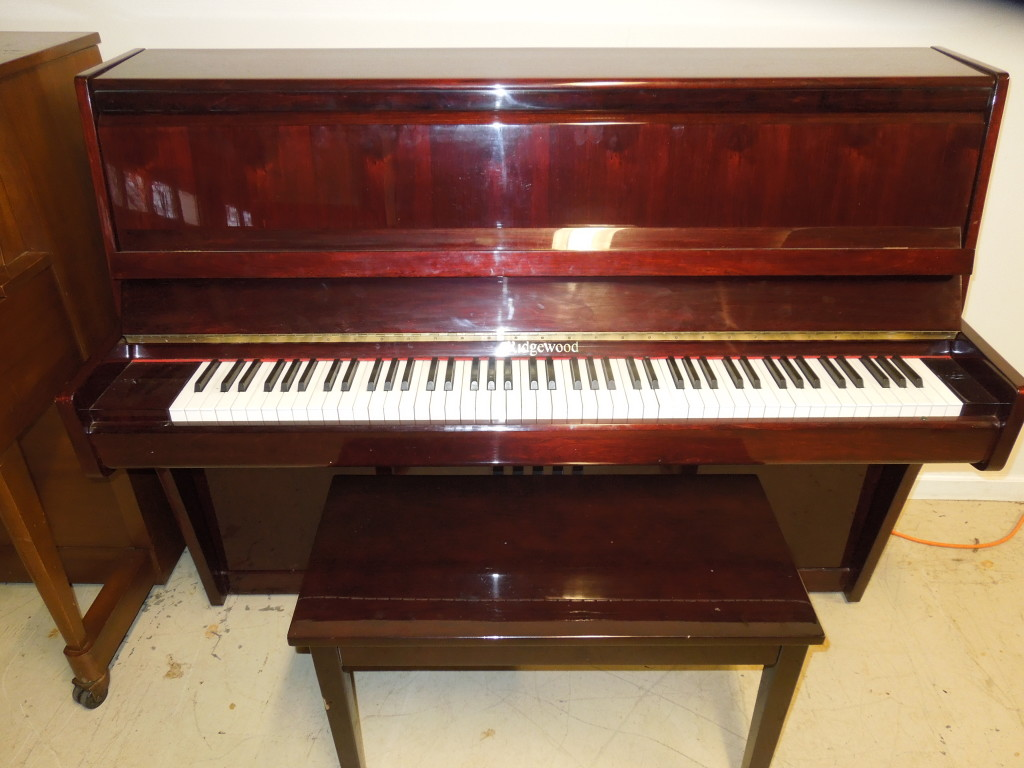 RIDGEWOOD PIANO WITH BEAUTIFUL CHERRY FINISH  $1500